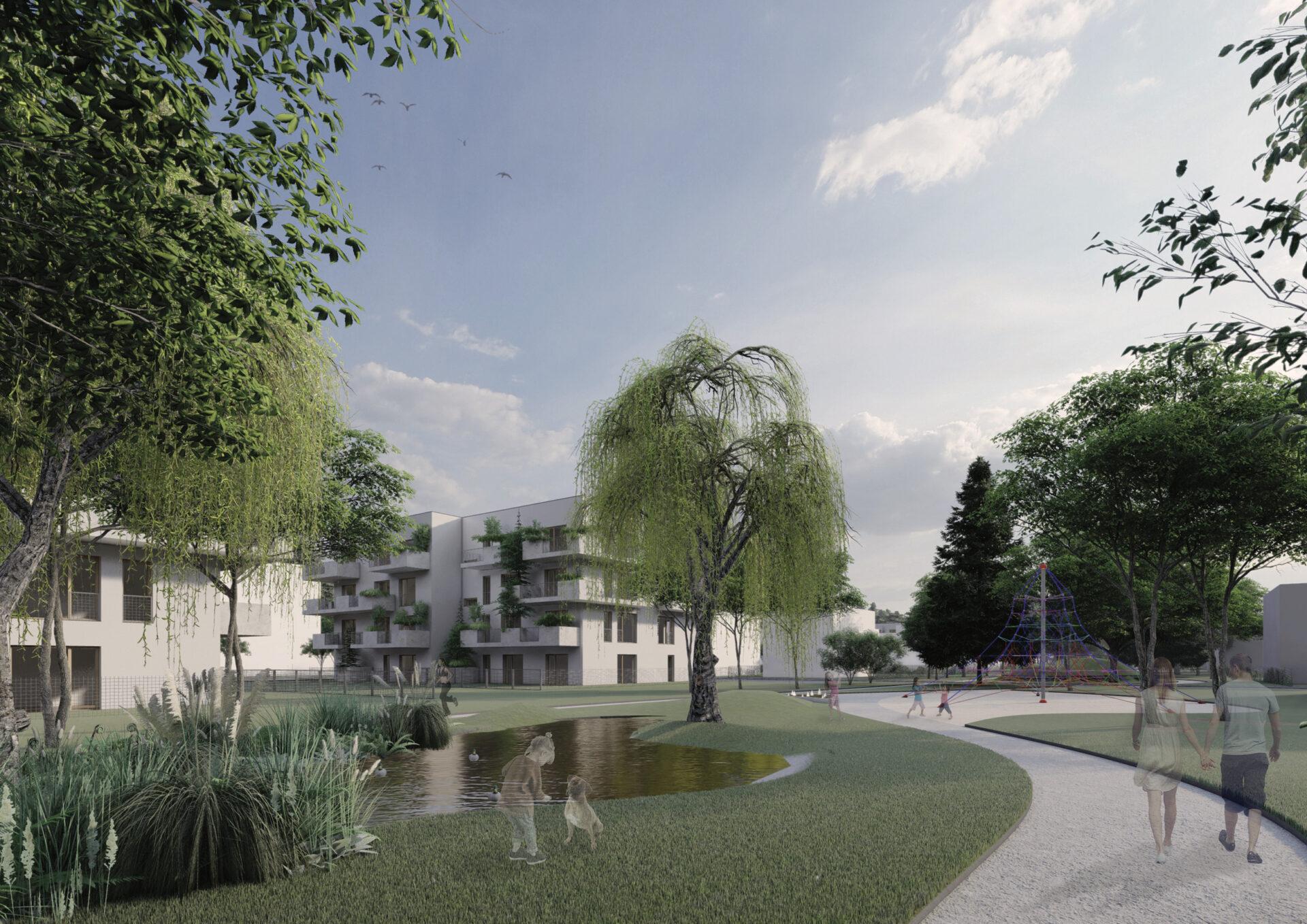 V Plzni má vzniknout ojedinělá zelená čtvrť, navrhli ji studenti