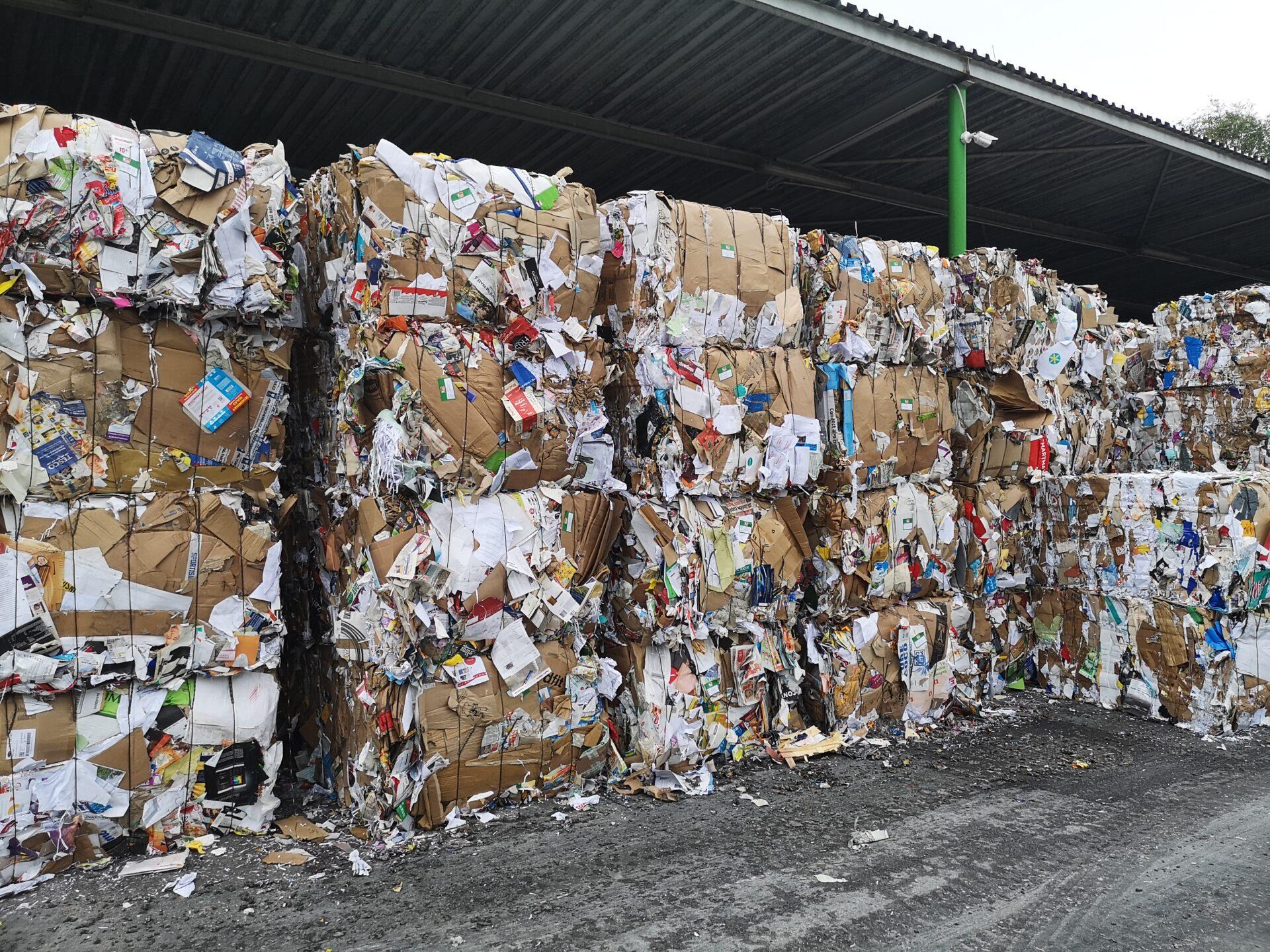 Papír, kam se podíváš. Jak funguje třídící linka, kam míří odpad z modrých popelnic