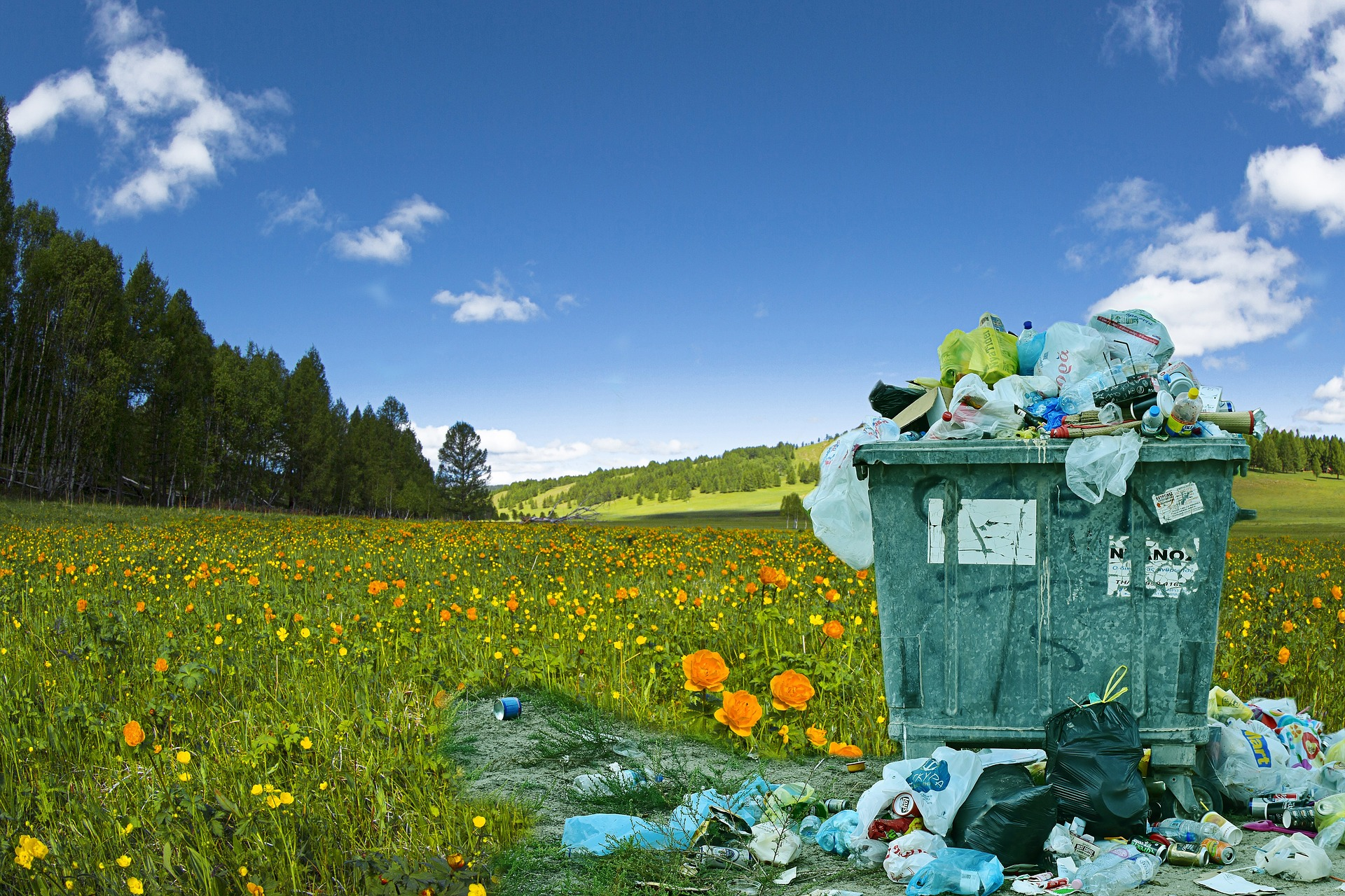 Eko-kom zkoumá, jak dostat z popelnice na směsný odpad to, co do ní nepatří