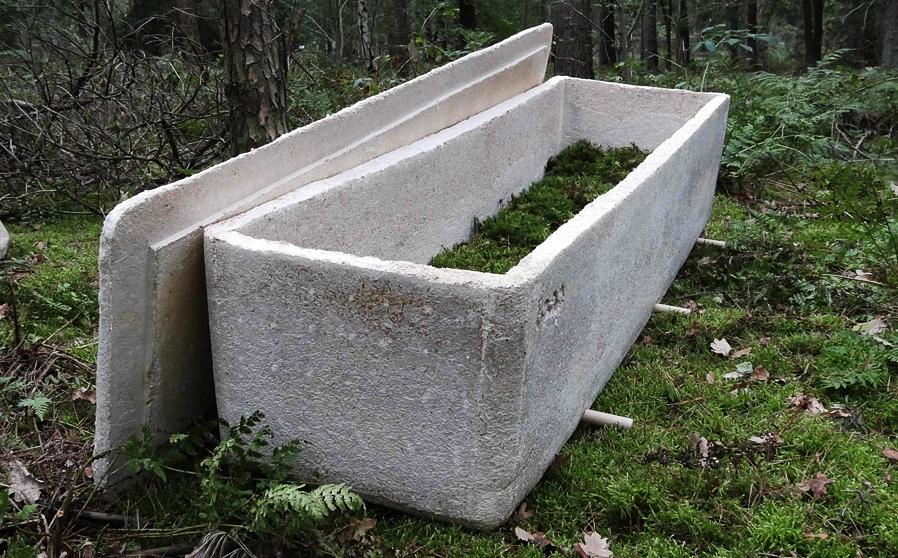 Ekologicky až za hrob. V rakvi z hub splynete s přírodou